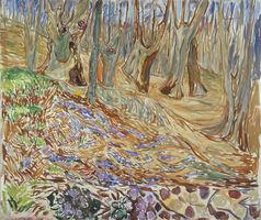 Edvard Munch, 'Spring in the Elm Forest', 1923