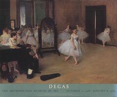 Edgar Degas, 'Dance Class', 1988