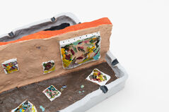 The trash bin outside my studio was always plundered by treasure hunters