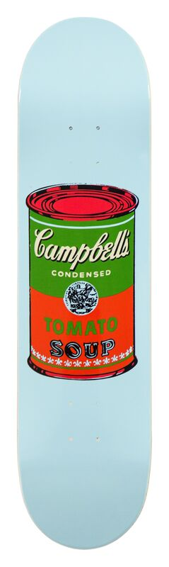 Andy Warhol, 'Campbell Soup Skate Deck (Red)', 2016, Other, 7-ply Grade A Canadian Maple wood, MOCA