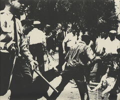 Andy Warhol, 'Birmingham Race Riot, from: Ten Works by ten Painters', 1964
