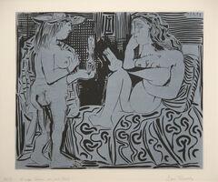 Pablo Picasso, 'Deux Femmes avec un Vase a Fleurs', 1959