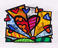 Romero Britto, 'Heart', 2017