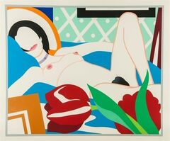 Tom Wesselmann, 'Monica with Tulips', 1989
