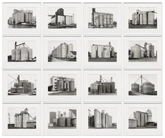 Bernd and Hilla Becher, 'Grain Elevators', 1965-1992