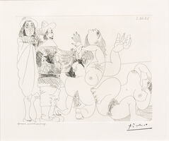 Pablo Picasso, 'Jeune Seigneur Fantoche..., from the 347 Series', 1968