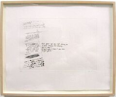 Richard Prince, 'Joke Print', 1992
