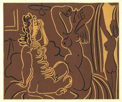 Pablo Picasso, 'Trois Femmes', 1962