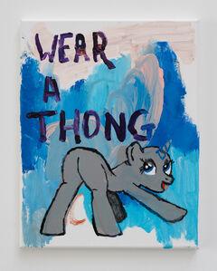 Huey Crowley, 'Wear a Thong', 2019