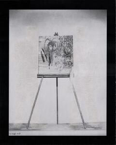 Jonathan Owen, 'Eraser Drawing (Artists and Models)', 2017