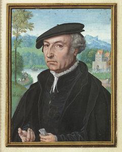 Simon Bening, 'Self-Portrait aged 75', 1558