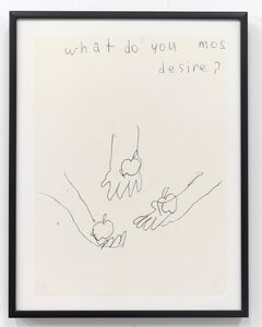 Emilie Gossiaux, 'What Do You Most Desire', 2018