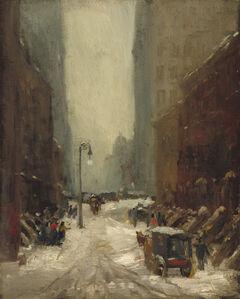 Robert Henri, 'Snow in New York', 1902