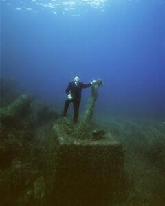 Philippe Ramette, 'Exploration rationnelle des fonds sous marins : l'ancre EA 1/3', 2006