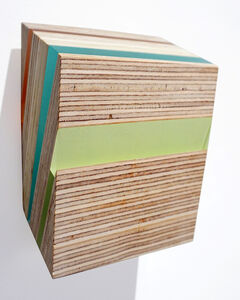 Michelle Benoit, 'Pyrite Paisley Series: In Ninigret Green, Blue', 2019