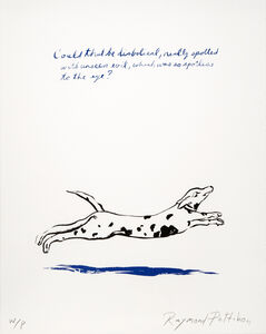 Raymond Pettibon, 'Untitled (Could That Be...)', 2018