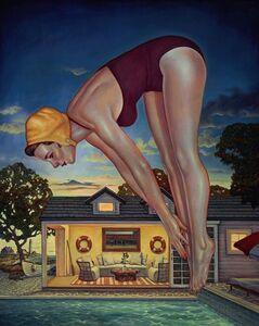 Danny Galieote, 'An Evening Dip', 2018