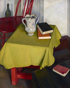Luigi Lucioni, 'The Yellow Tablecloth', 1926-1928