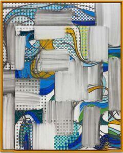 Keltie Ferris, 'Cloud Line', 2020
