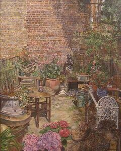 Melissa Scott-Miller, 'Islington Back Garden', 21st Century