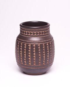Emile Lenoble, 'Carved Vase', 1915