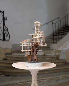 Nicolas Bernière, 'The epiphyte village', 2018