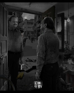 Ranbir Kaleka, 'Unremarkable Life of the Man with Tiffin Box (Version 2) ', 2018