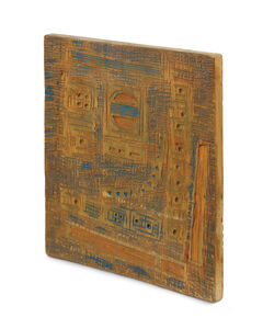 Seund Ja Rhee, 'La Terre Due & Aux Toreents de L'est (both sides work)', 1964