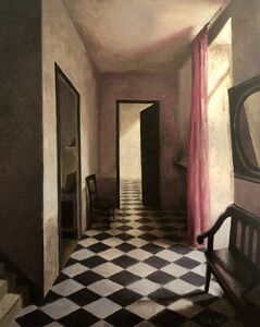 Marc Chalmé, 'Le rideau rose'