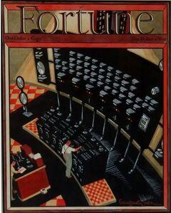 Ernest Hamlin Baker, 'Fortune Magazine Cover, Depression-Era WPA Industrial Illustration', ca. 1930