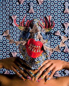 Siwa Mgoboza, 'Le Etres D' Africardia III', 2015