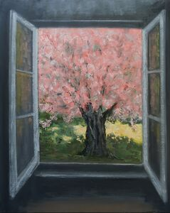 Albert Hadjiganev, 'Fenêtre rose'