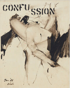 Wook-kyung Choi, 'Confussion', 1966