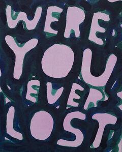 Stefan Marx, 'Were You Ever Lost', 2019