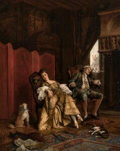 Daniel Ridgway Knight, 'An Afternoon Nap', 1875