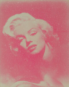 Russell Young, 'Marilyn Glamour - Pink And White ', 2010