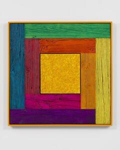 Douglas Melini, 'Untitled, (tree painting/spectrum-yellow)', 2019