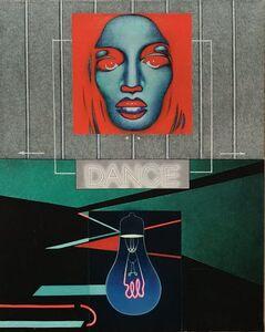 Sergio Sarri, 'Il ritratto n3 (studio per rainbowroom)', 2012