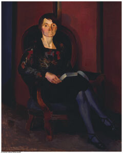 Willard Nash, 'Lady with a Book'