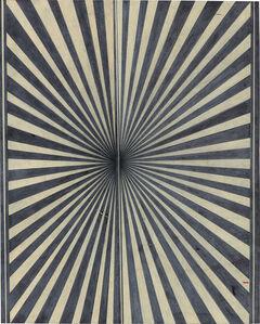Mark Grotjahn, 'Untitled (Black and Creamsicle 700)', 2007
