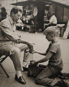 Morris Engel, 'Shoe Shine Boy', 1945