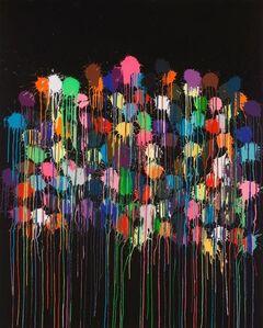 Ian Davenport, 'Colour Splat Bang', 2019