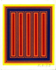 Richard Anuszkiewicz, 'Annual Edition ', 1983
