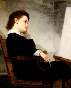 George Henry Story, 'The Young Artist', 1873