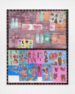 Nicole Mouriño, 'Charada, Loteria, and Stickers', 2017