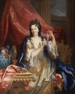 Nicolas de Largillièrre, 'Portrait of a Woman', 1696