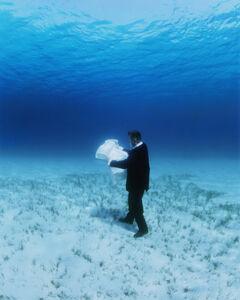 Philippe Ramette, 'Exploration rationnelle des fonds sous marins : la carte - Edition 2/5', 2006