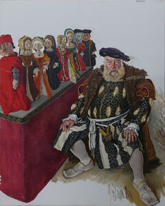 Chen Danqing, 'Old Man Plays The Role of Henry VIII', 2018
