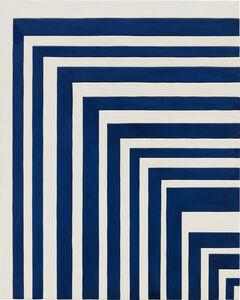 Sadie Benning, 'Blue and White Painting', 2013