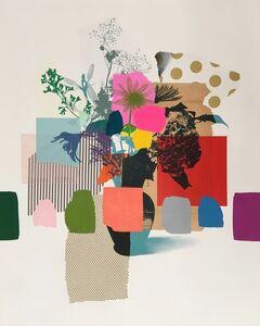 Emily Filler, 'Pink Bouquet (pink + green flower)', 2019